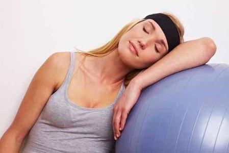 Ejercicio antes de dormir